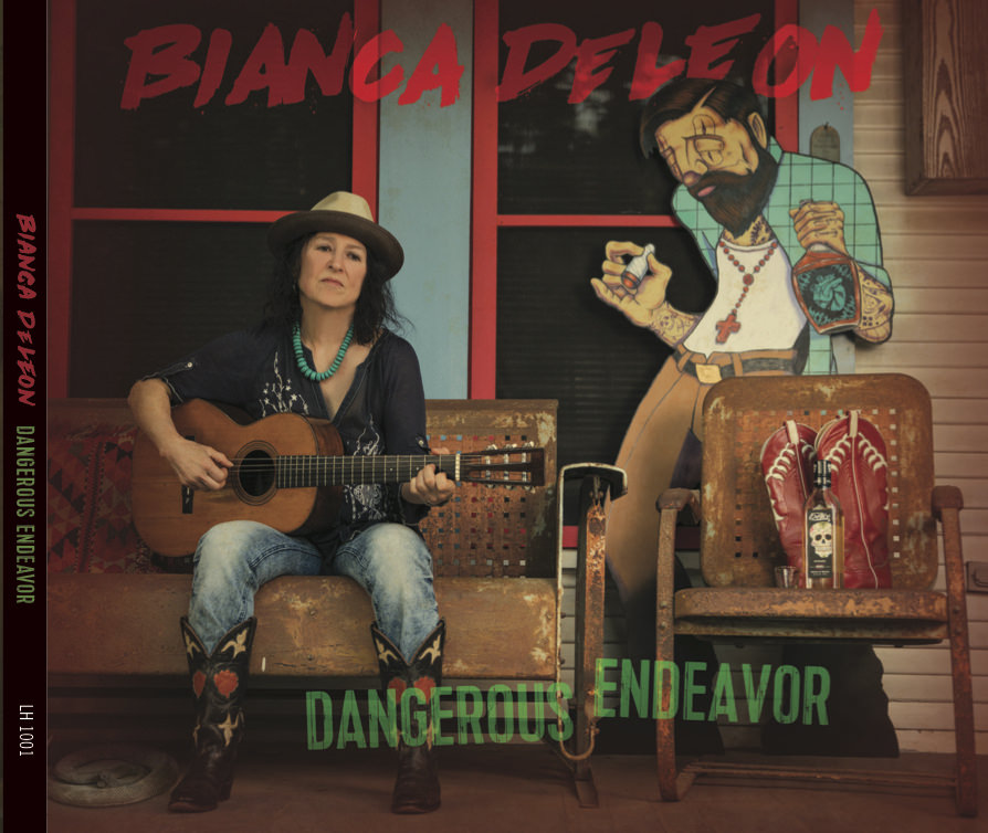 Bianca DeLeon - Dangerous Endeavor CD cover